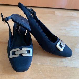 open heel shoes Donald J. Pliner